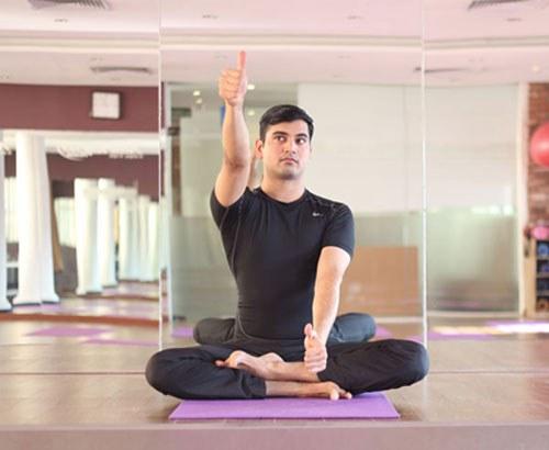 bài tập yoga vận nhãn cho mắt khỏe