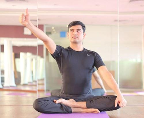 chuyển động nhìn cho mắ động tác 1t - bài tập yoga